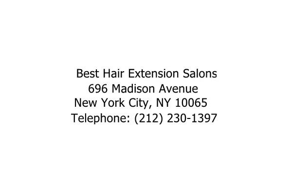 Image Gallery from Best Hair Extensions New York