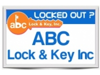 logo ABC Lock  Key Inc