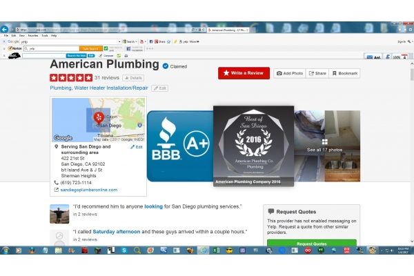 Image Gallery from American Plumbing Co