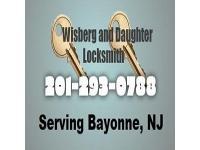 logo Bayonne Locksmith - Wisberg and Daughter Locksmith