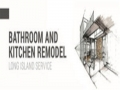 Custom Modern Bathroom & Kitchen