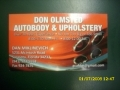 Don Olmsted Auto Body & Upholstery